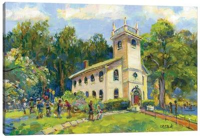 St Andrew's Church Canvas Art Print