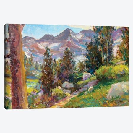 Trail Canvas Print #CEI25} by Catherine M. Elliott Art Print