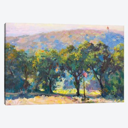 Tree Terrain Canvas Print #CEI27} by Catherine M. Elliott Art Print