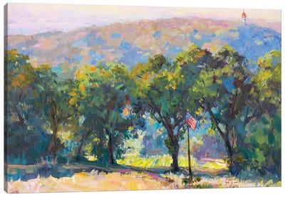 Tree Terrain Canvas Art Print