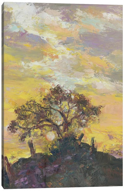 A Way Up Canvas Art Print