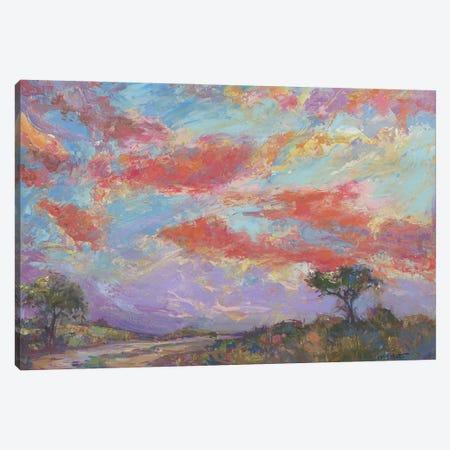 Nantucket Sunset Canvas Print #CEI36} by Catherine M. Elliott Canvas Artwork
