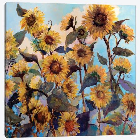Sunflower Daze Canvas Print #CEI39} by Catherine M. Elliott Canvas Print
