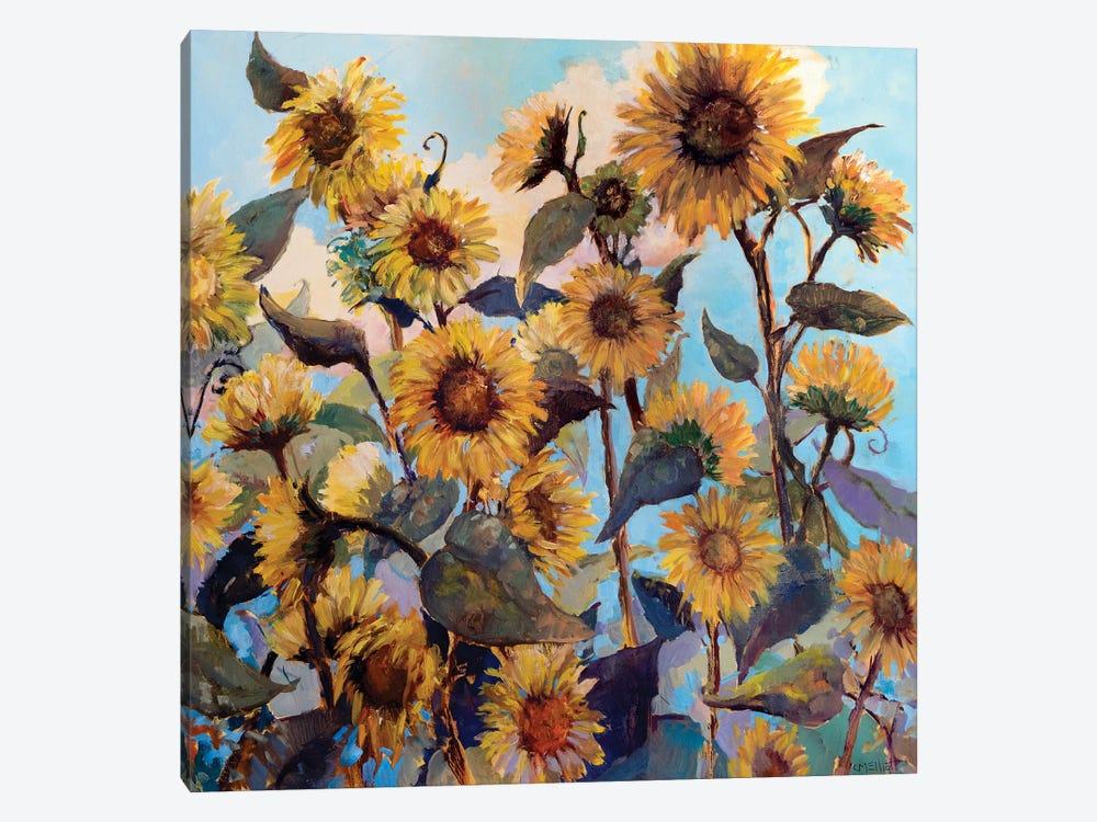 Sunflower Daze by Catherine M. Elliott 1-piece Canvas Print