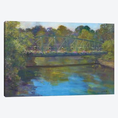 Flower Bridge Canvas Print #CEI7} by Catherine M. Elliott Canvas Art