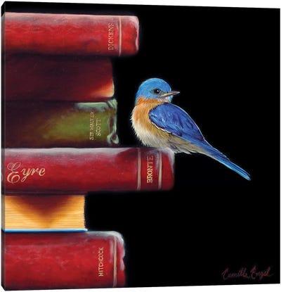 Got Book Worms? Canvas Art Print