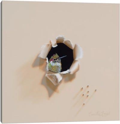 Jeweled Trespasser Canvas Art Print