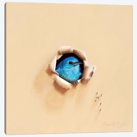 Song Sung Blue Canvas Print #CEN54} by Camille Engel Art Print