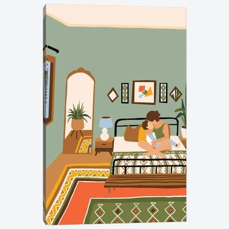 Summer House Canvas Print #CEY16} by Ceyda Alasar Canvas Wall Art
