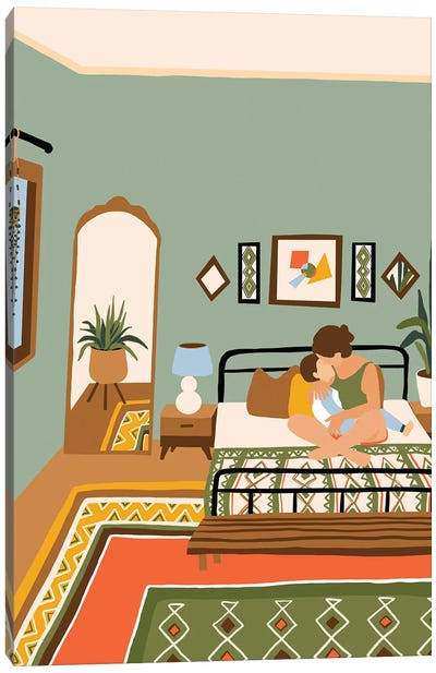 Summer House Canvas Art Print