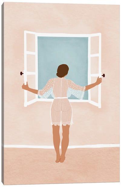 Morning Breeze Canvas Art Print