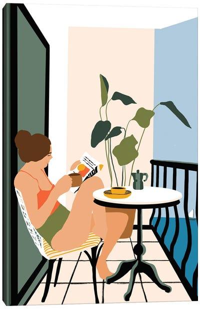 Summer Vacation Canvas Art Print