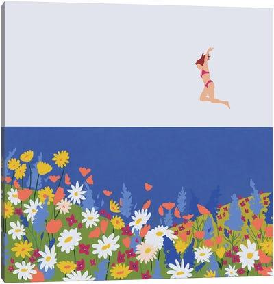 Wild Flowers Canvas Art Print