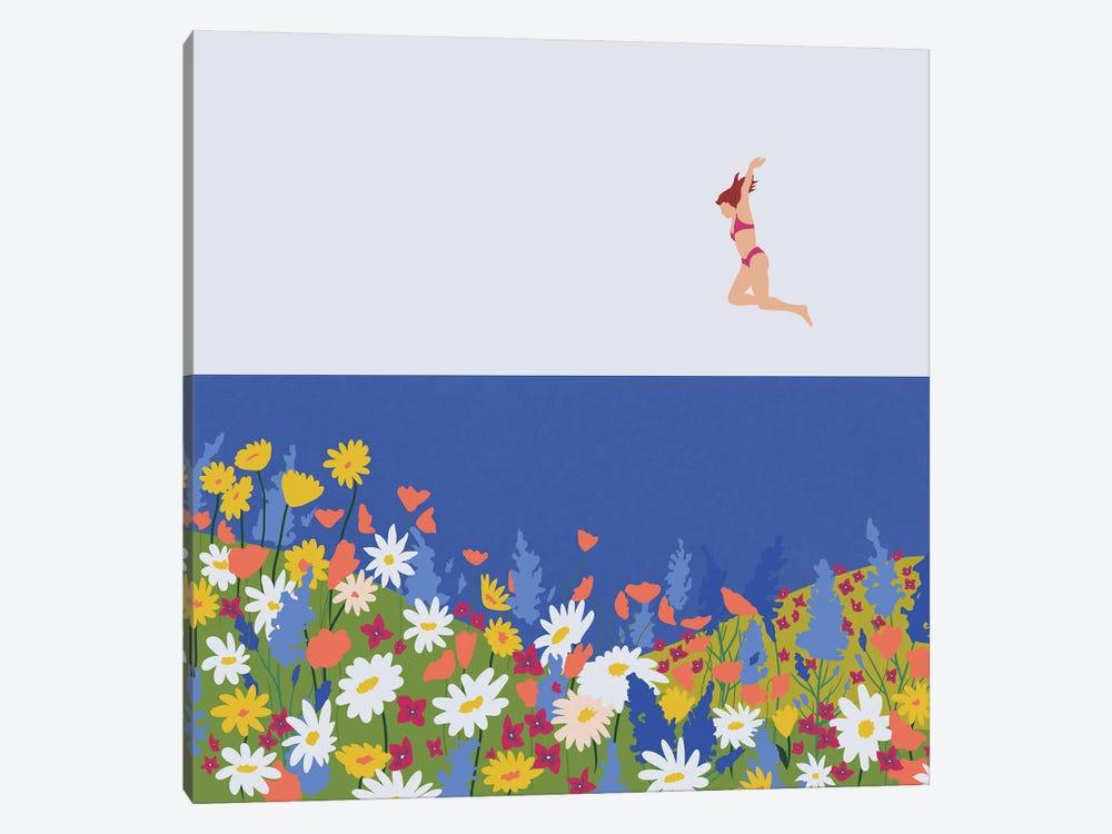 Wild Flowers by Ceyda Alasar 1-piece Canvas Art Print