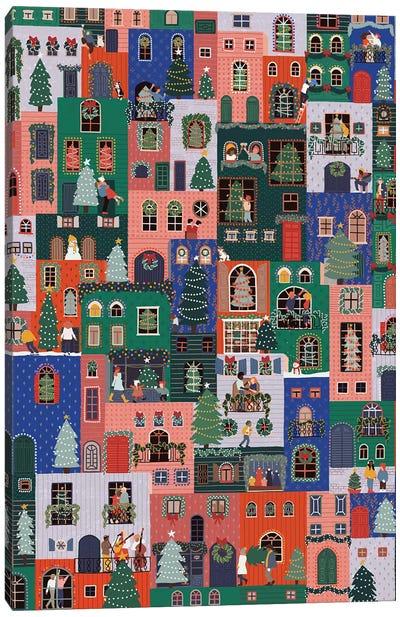 Christmas Town Canvas Art Print