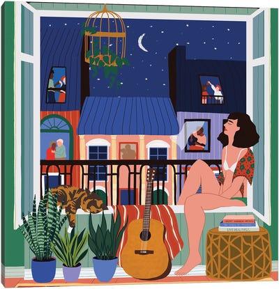 Night Song Canvas Art Print