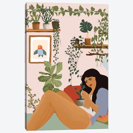 I Hurt You Because I love You Canvas Print #CEY32} by Ceyda Alasar Art Print