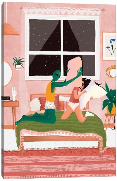 Sleep Over Canvas Art Print