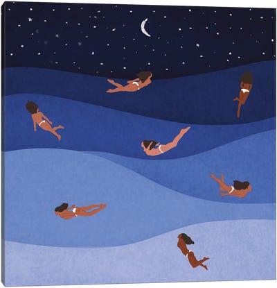 Ocean's Child Canvas Art Print