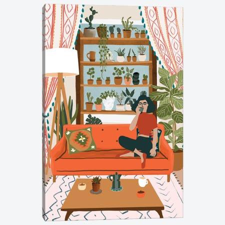 Cozy Noon Canvas Print #CEY43} by Ceyda Alasar Canvas Artwork