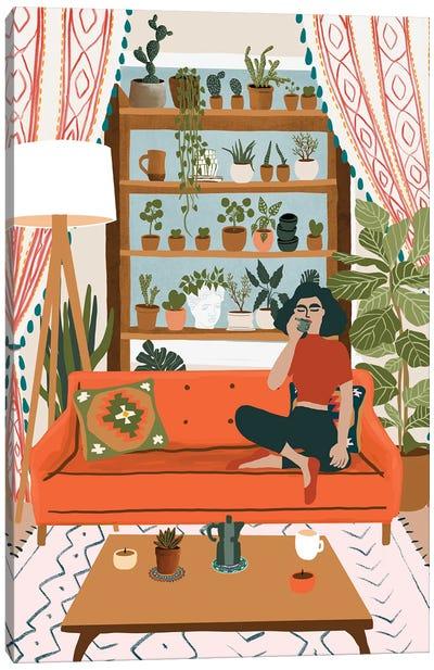 Cozy Noon Canvas Art Print