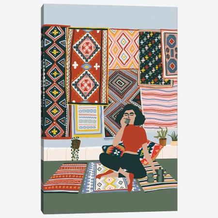 Coffee Break Canvas Print #CEY4} by Ceyda Alasar Canvas Print