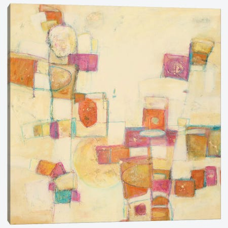 Festive III 3-Piece Canvas #CFD11} by Beverly Crawford Canvas Artwork