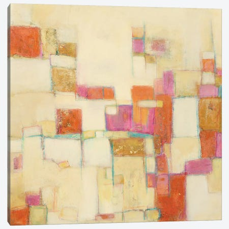 Festive IV Canvas Print #CFD12} by Beverly Crawford Canvas Artwork