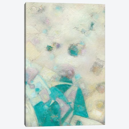 Turquoise Celebration I Canvas Print #CFD15} by Beverly Crawford Canvas Art Print