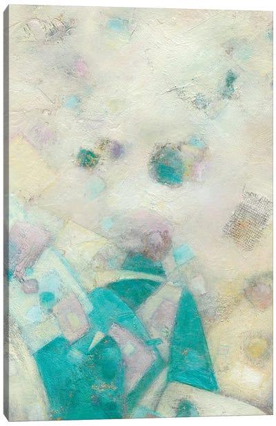 Turquoise Celebration I Canvas Art Print