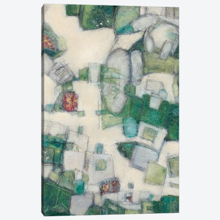 Jigsaw II Canvas Print #CFD2} by Beverly Crawford Art Print