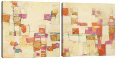 Festive Diptych Canvas Art Print