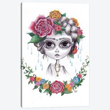 Frida Kahlo Canvas Print #CFI14} by Christine Fields Canvas Art