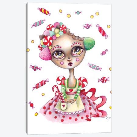 Gingerbread Dreams Canvas Print #CFI16} by Christine Fields Canvas Wall Art