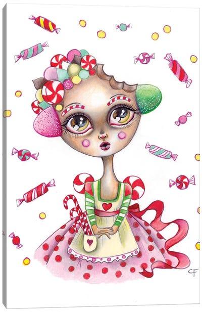 Gingerbread Dreams Canvas Art Print