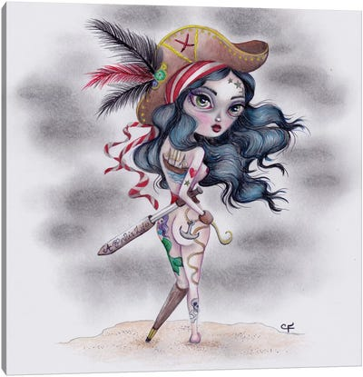 Pirate's Booty Canvas Art Print