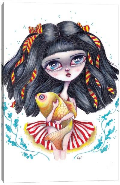 Rue Canvas Art Print