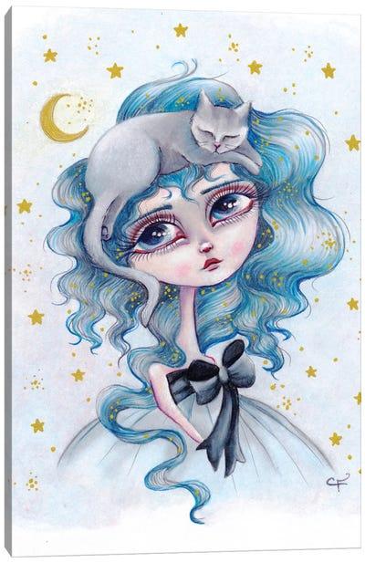 Sleepy Blues Canvas Art Print