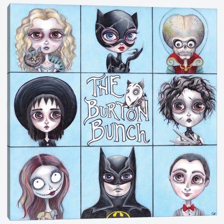 The Burton Bunch Canvas Print #CFI22} by Christine Fields Canvas Wall Art
