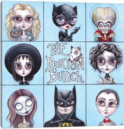 The Burton Bunch Canvas Art Print
