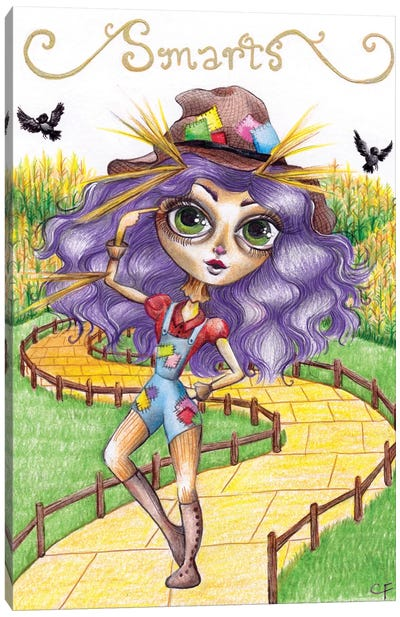The Scarecrow Canvas Art Print