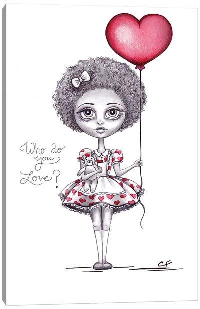 Who Do You Love Canvas Art Print