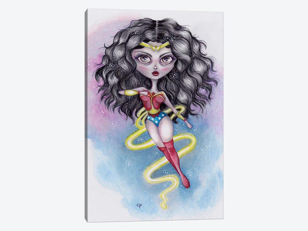 Wonder Woman by Christine Fields 1-piece Canvas Artwork