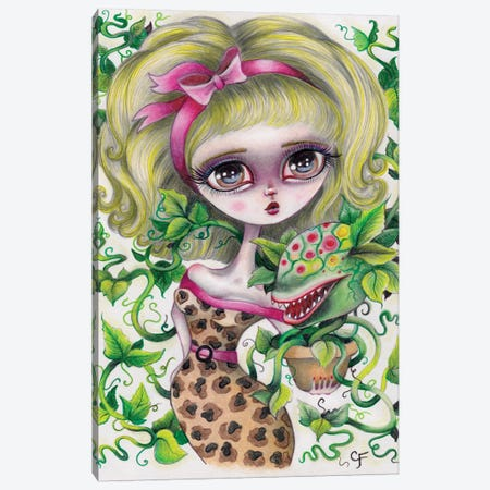 Audrey Canvas Print #CFI2} by Christine Fields Canvas Artwork