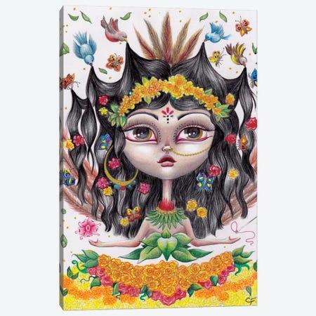 Xochiquetal Canvas Print #CFI30} by Christine Fields Canvas Art Print