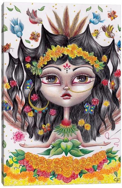 Xochiquetal Canvas Art Print