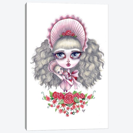 Interview With The Vampire - Claudia Canvas Print #CFI32} by Christine Fields Canvas Print