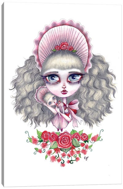 Interview With The Vampire - Claudia Canvas Art Print