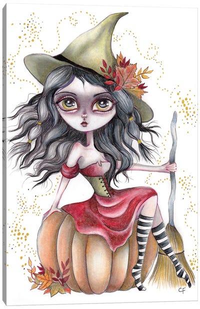 Harvest Witch Canvas Art Print