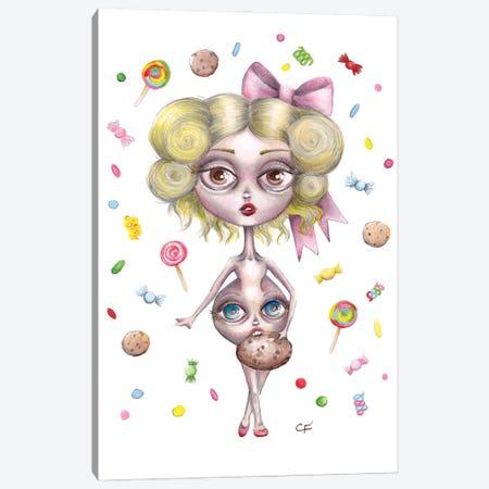Hungry Hilda Canvas Print #CFI39} by Christine Fields Canvas Art Print
